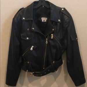 Bebe Genuine Real Leather Jacket